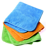 Microfiber Towels - Set of 3 Vary in Color