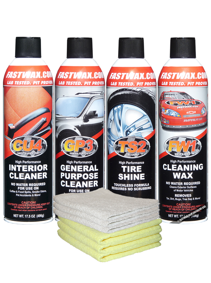 WATERLESS DETAIL CAR CARE SYSTEM KIT [Car Care Kit]