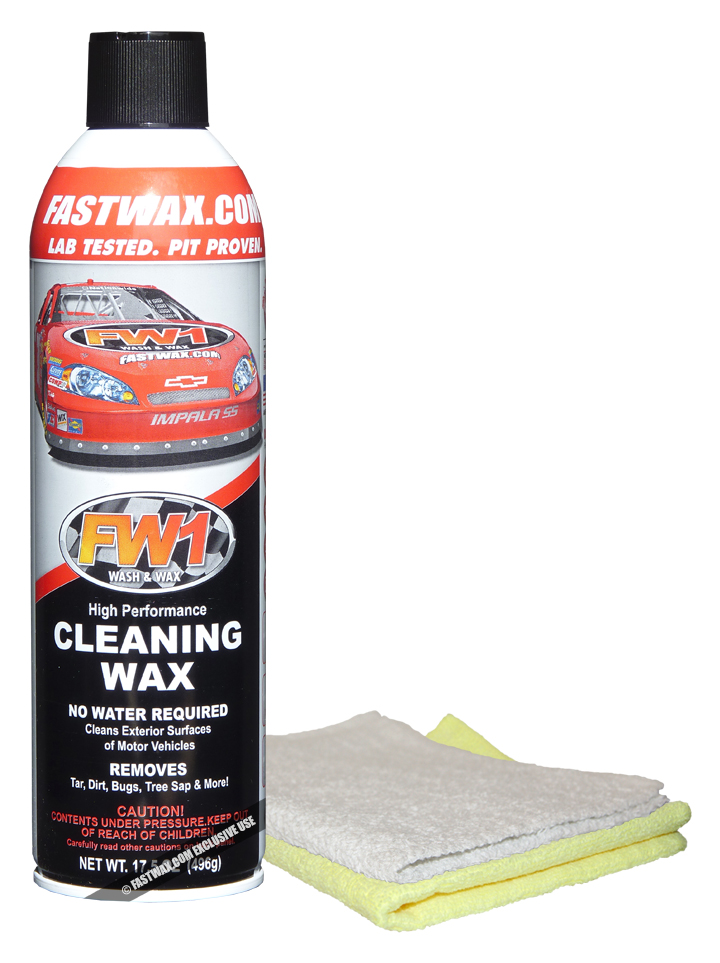 FW1 Wash & Wax 17.50 oz. Aerosol Can (Special Internet Price)