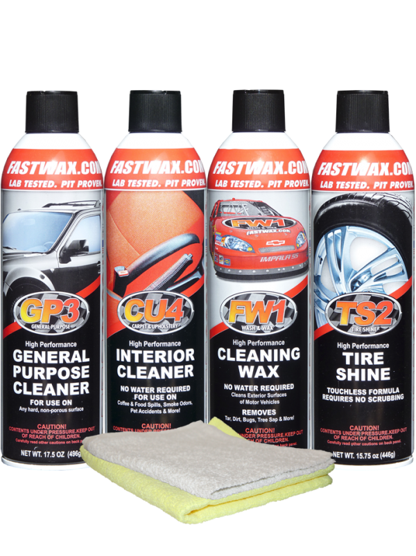 WATERLESS DETAIL CAR CARE SYSTEM KIT